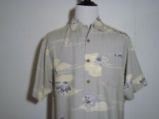 Tommy Bahama 100% Silk Garden of Hope & Courage for Breast Cancer Medium NWT
