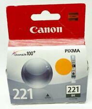 CLI-221BK Black / Canon 221 Pixma Ink Cartridge Sealed in box