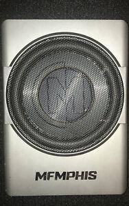 "MEMPHIS AUDIO SA110SPD 10"" 400W POWERED UNDER SEAT ENCLOSED SUBWOOFER AMPLIFIER"