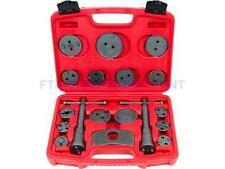 18Pcs Universal Caliper Tool Kit Case Wind Back Disc Brake Pad Piston Service