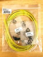 Jagwire Brake & Gear Cable Set - CGX, LEX-SL - Outers & Ferrules, Yellow & Black