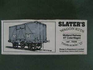 ORIGINAL SLATERS MR/LMS/BR 8T COKE WAGON KIT - NEW