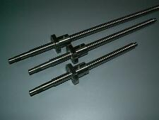 3 set Anti bachlash 12mm ballscrew RM1204-500mm-C7+ball nut+end machine CNC XYZ