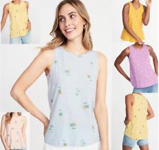 OLD NAVY Ladies Everywear Slub-Knit Tank Tops Womens Summer Tank Top