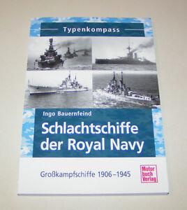 Typenkompass Corazzate Il Royal Blu Navy Großkampfschiffe 1906 Fino 1945
