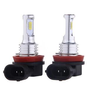 Paar Weiß H11 H8 H9 H16 LED Nebelscheinwerfer 35W 4000LM 6000K Für Scheinwerfer