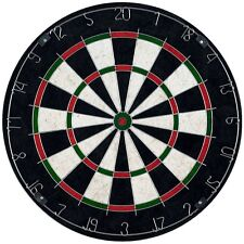 Bristle Dart Board Set with 6 Darts and Board 11 Lbs Professional Quality