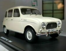 RENAULT 4 4L 1964 1:24 Scale Model Toy Classic Car Miniature White