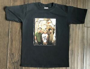 Blink 182 North American Tour T-shirt Sz Youth Medium 2004 Travis Barker Concert