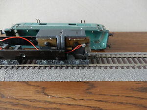 VB locomotive SNCF BB 9001 SNCF en 2 rails CC particulière - voir détails