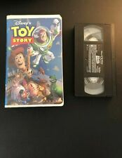 Vtg 1996 Walt Disney TOY STORY VHS Tape Video Kids Movie TOM HANKS Clamshell
