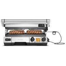 Breville BGR840 the Smart Grill Pro Lockopen BBQ 2400W High Sear with Element IQ