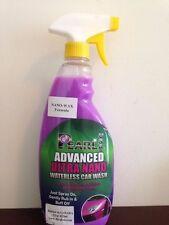 Car Wash WATERLESS Nano WAX Concentrate Mix Kit 22oz MF Cloth, by BioGloss/Pearl