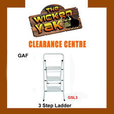 LADDER 3 Step Lightweight Multi-Purpose Household/Office Foldable Frame-GAF3
