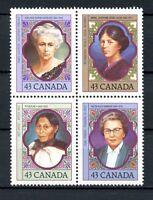 Canada Block MNH #1459a Prominent Women 1993  H225