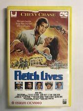 Fletch Lives Ex-Rental Vintage Big Box VHS Tape English dutch subs