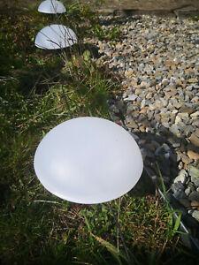Led Solar Halbkugel  Solarlampen  4 Set