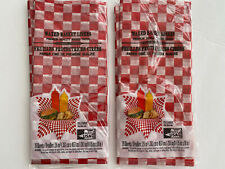 New listing New 30 ct Waxed Deli Basket Liners for Sandwich Burger Hot Dog Picnic Food Bbq
