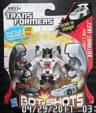 2012 Hasbro Transformers Super Bot Shots Battle B014 Jazz Autobot NY