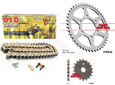 DID Gold XRing Chain and JT Sprockets Kit For Suzuki GSF1200 Bandit 1995 to 2005