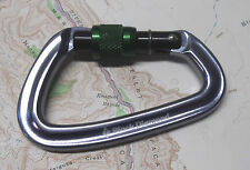 Black Diamond Positron Screwgate Carabiner Climbing Rock Trad Biner SG Locking