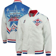 Mitchell & Ness White 1991 NBA All-Star Game Authentic Warm Up Jacket Size L