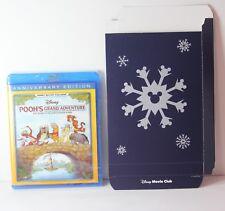 Pooh's Grand Adventure Disney Movie Club Exclusive Blu Ray Pooh NEW w GIFT BOX