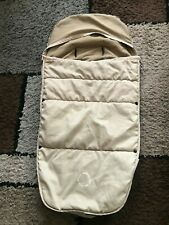 BUGABOO UNIVERSAL FOOTMUFF /COSY TOES IN BEIGE/SAND  GOOD CONDITION.
