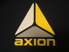 AXION FOOTWEAR Logo T-Shirt NAVY Medium M SKATEBOARD Kareem Campbell SKATE 2002