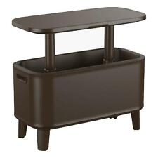 Top Bar Cart 17 Gallon Cooler with Pop-Up Table Indoor Outdoor Furniture NEW