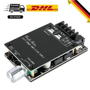 HiFi Bluetooth 5.0 Digital-Endstufe Tafel TPA3116D2 Stereo 2.0 2X50W 5V AMP