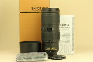 MINT Nikon AF-S NIKKOR 70-200mm f/4 G ED VR Nano Lens