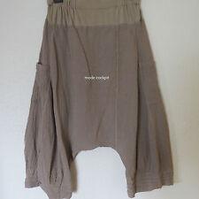 Damen-Haremshosen mit hoher Bundhöhe und weitem Bein Damenhosen aus Baumwolle