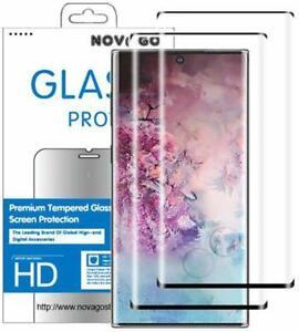 Samsung NOTE 10 - 2 Films en verre trempé protection écran résistant incurvé