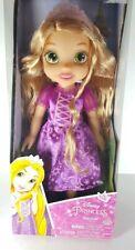 "Disney Jakks Pacific Princess Rapunzel Tangled 14"" Toddler Doll New in Package"