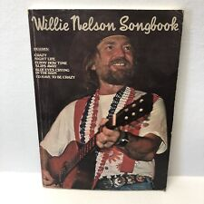 Willie Nelson SongBook 1976 Music Book Columbia Crazy Funny How Slips Away