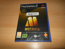 SingStar  Motown Sony PlayStation 2   ps2, NEW SEALED  pal