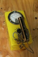 CIVIL DEFENSE VICTOREEN CDV-700 GEIGER COUNTER/SURVEY METER