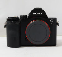 Sony a7 ILCE-7 24.3MP Full Frame Mirrorless Camera - Black (Body Only)