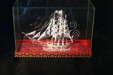 fine silver boat souvenir