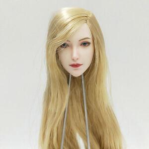 """SUPER DUCK SET043 1/6 Elf Girl Head Sculpt Carved Model for 12"""" Action Figure"""
