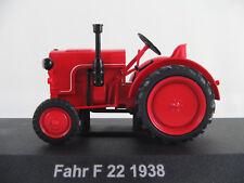 HACHETTE #22 Fahr F 22 (1938) in rot 1:43 NEU/PC-Vitrine