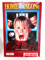 Home Alone Original Instruction Booklet SUPER NINTENDO SNES Book Manual