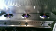 More details for commercial wok burner gas stove 3 with water curtain - 3 x 15kw