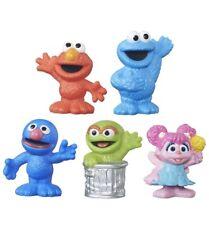 Set of 5 Playskool Sesame Street Friends Collectible Figurines