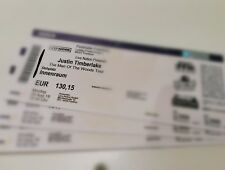 JUSTIN TIMBERLAKE Tickets Konzert Frankfurt Stehplatz INNENRAUM 20.08.2018