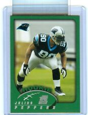 2002 Topps Julius Peppers ROOKIE Card Carolina Panthers
