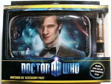 Doctor Who Nintendo DS/DSi/Lite carry case & Sonic Screwdriver stylus Matt Smith