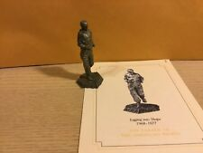 Vintage Saturday Evening Post Franklin Mint Pewter Figurine Jogging Into Shape