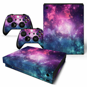 Galaxy Nebula Space Skin for XBOX ONE X Controller &Console  Sticker Decal Cover